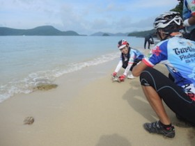 Skycliff supports Biker's Energy For The Love of Health, Krom Luang, Sea Turtle event